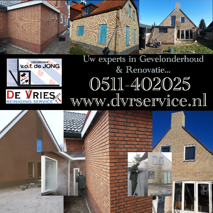 Uw experts in gevelonderhoud en renovatie
